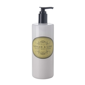 BODY LOTION - NATURALLY EUROPEAN GINGER LIME