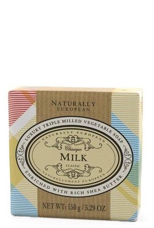 WRAPPED SOAP  - NATURAL EUROPEAN MILK